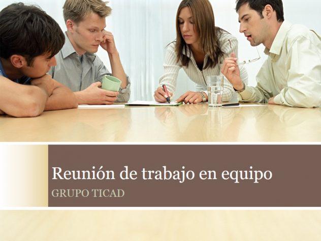 GRUPO TICAD-REUNION DE TRABAJO